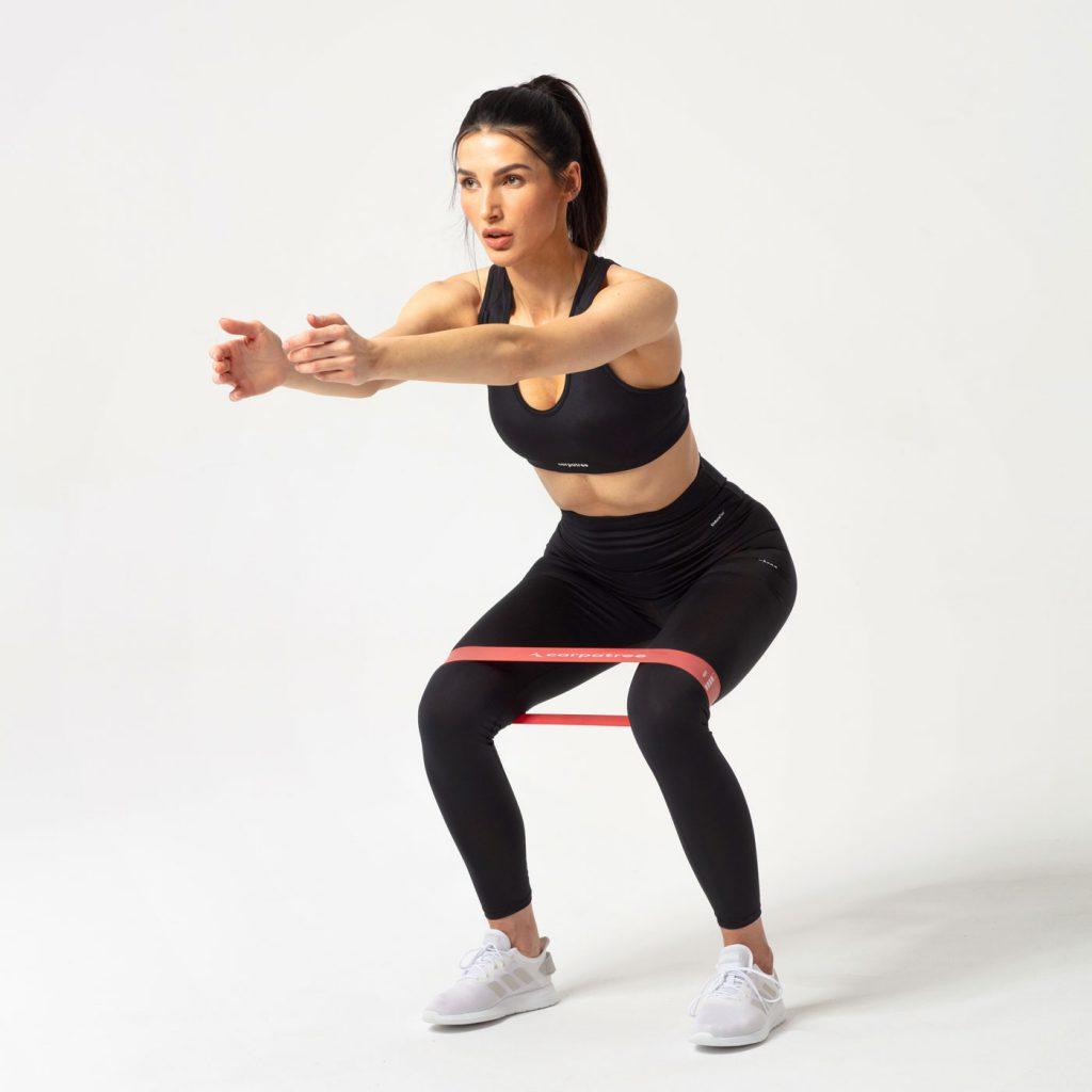 Ćwiczenia z gumami oporowymi